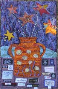 """Ann's Stars on Sticks"", original by Gail Mueller"